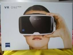 Óculos de realidade virtual novo na caixa