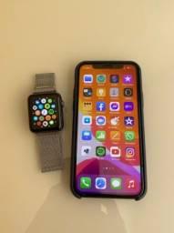 iPhone 11 Pro e Apple Watch 3