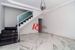 Sobrado com 1 dormitório à venda, 343 m² - Gonzaga - Santos/SP