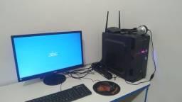 Computador gamer completo! 3 meses de uso!