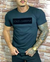 <br>Camisa Azul Dolce Gabbana Premium Peruana