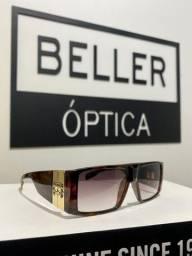 Óculos de Sol Evoke Bomber G22 Turtle Gold Brown Gradient Original com Nota Fiscal
