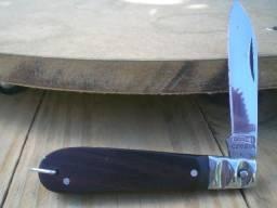 Antigo Canivete Corneta Eletricista - Talas Em Madeira