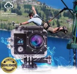 Micro Câmera Go-Pró Full HD/ 4K