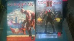 Barbada livros do game God of War ac/cartão