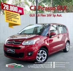 CITROËN C3 PICASSO 2012/2013 1.6 FLEX GLX BVA - 2013