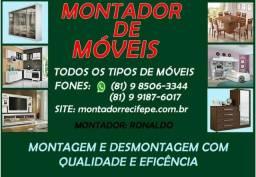 Montador de móveis - oi e zapp (98506-3344)