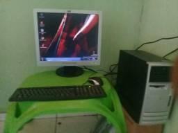 Pc dual core 3.0 ghz 3gb m ram monitor 22 polegadas