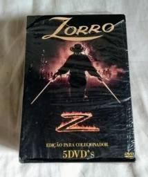 Dvd box seriado original zorro guy willians a primeira temporada completa!