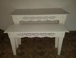 Conjunto de Mesa Provençal Branca