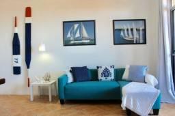 (HN) Apartamento Todo Mobiliado no Porto das Dunas - Excelente Rentabilidade com Locação