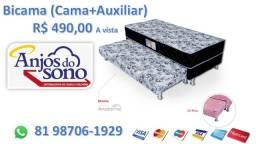 Bicama (Cama + Aux.) - Entrega Grátis 81 98706-1929