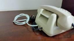 Telefone Cinza Siemens De Disco Antigo
