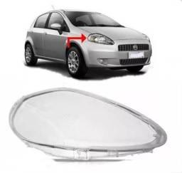 Lente Farol Fiat Punto 2008 2009 2010 2011 2012 Direito