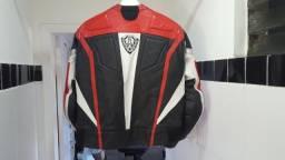 Jaqueta e calça para motociclista