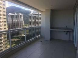 Apartamento 80 m² à venda, 2 dormitórios, varanda gourmet, barra-rj