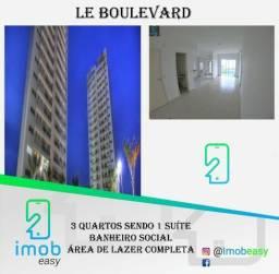Le Boulevard, 3 quartos sendo 1 suíte andar alto