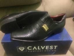 Sapato Masculino Calvest Confort (Novo - Sem Uso)