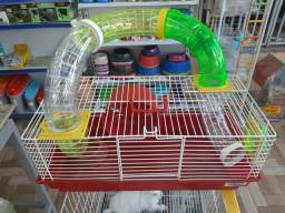 Hamster e acessórios