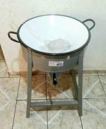 Fritadeira de tacho alta pressão Nova na CAIXA