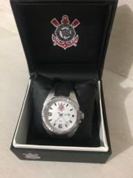 Relógio do Corinthians série Luxo promoção de 300,00 por 250,00