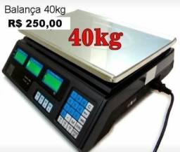Balança digital eletrônica pesa até 40 kg