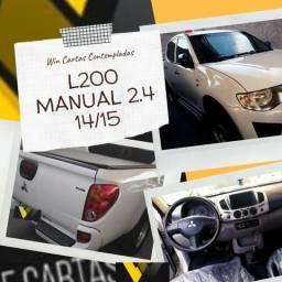 L200 2.4 Manual 14/15 Não Consultamos Score - 2015