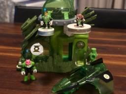 Casa e nave do Lanterna Verde Imaginext