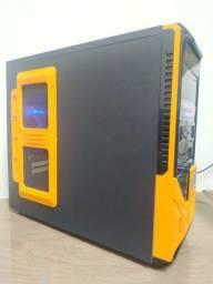 Computador i3 3220, 3,30GHz, 8GB de memória DDR3, 500GB de HD. Gabinete gamer