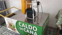Carro com máquina  de moer  cana #CALDO DE CANA #COMPLETO