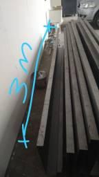 Estrutura metálica / piso wall