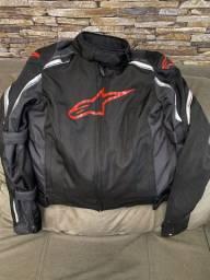 Vendo jaquetas para motociclistas, capacetes e bota