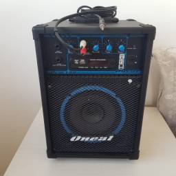 Caixa Amplificada Oneal Ocm-190 Multiuso 40w Rms Usb Sd Fm