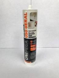 Silicone Incolor Híbrido para Acabamentos e fixação 260gr