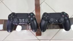 Controles de PS4 Novos(nunca usados) R$220 cada