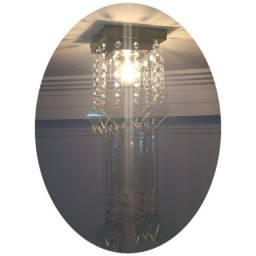 Lustre De Cristal Acrilico 17x17