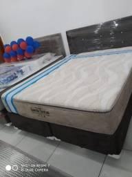 Promoção cama box e colchão ortopédico probel guarda costas queen 158x198 por :1599,99