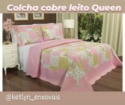 Colcha cobre leito Queen