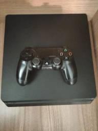 PS4 slim 500 GB+ 10 jogos
