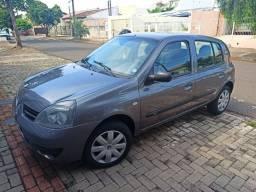 Vendo ou troco Clio 2008, flex, básico, placa A