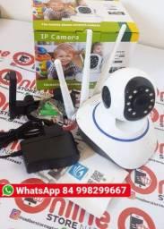 câmera Segurança Ip Sem Fio wifi Wireless Infra Audio 1,3mp
