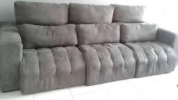 Sofa retrail e reclinavel