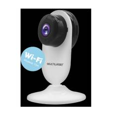 Câmera Interna Inteligente full HD Wifi c/ microfone e visão noturna Multilaser Liv Se223
