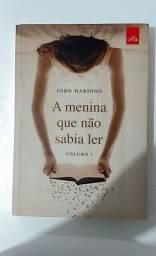 A menina que não sabia ler - Livro Seminovo