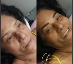 Sobrancelhas / maquiagem definitiva