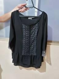 Camisa preta P