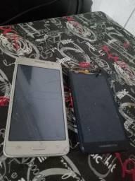 Samsung duos e moto g3
