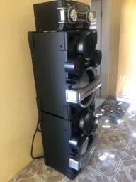 Som Panasonic 2400 watts Rms *leia anuncio