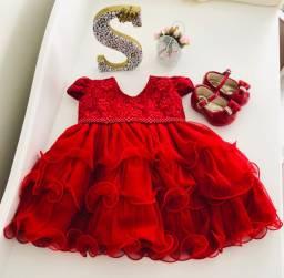 Vestido de Festa - Vermelho
