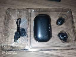 Fone de ouvido via bluetooth 5.0 wireless